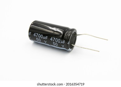 Isolated DIY Electronic Parts including capacitor, resistor, and perfboard