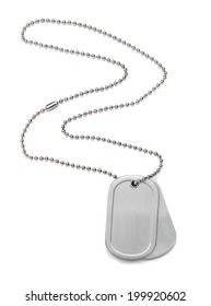 Isolated Dog Tag