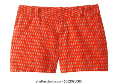 isolated dress shorts