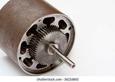Isolated electrical motor detail