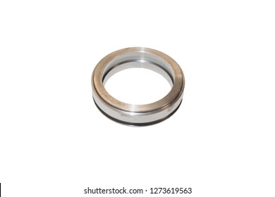 Isolated engine metallic ring / Cylinder Liner on a white background