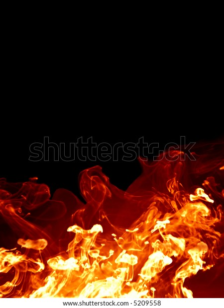 isolated fire like texture