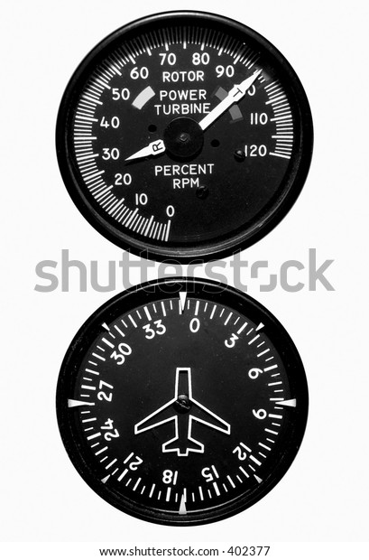 Isolated Flight Gauges