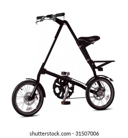 isolated foldable bicycle