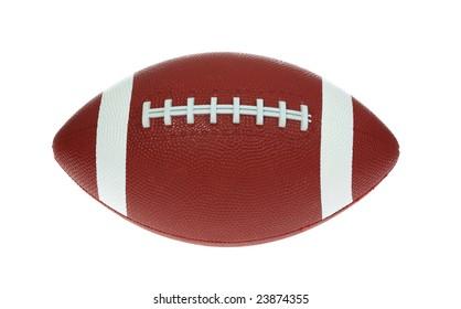 Isolated football.