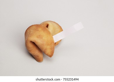 isolated Fortune Cookies