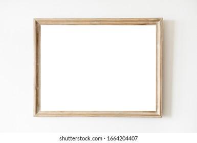 Isolated Frame on white background.