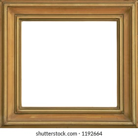 Isolated frame very good to use for your photos and paintings