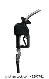 isolated gasoline nozzle