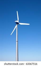 isolated generator of wind energy