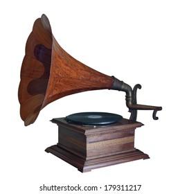 Isolated gramophone