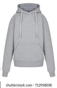 isolated grey sweatshirt