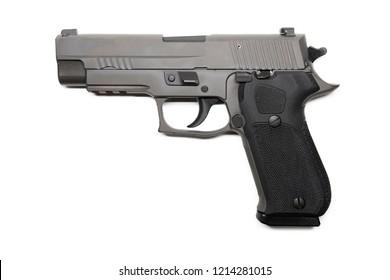 Isolated /handgun on white background
