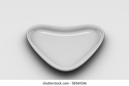 Isolated Heart Plate