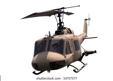 isolated helicopter