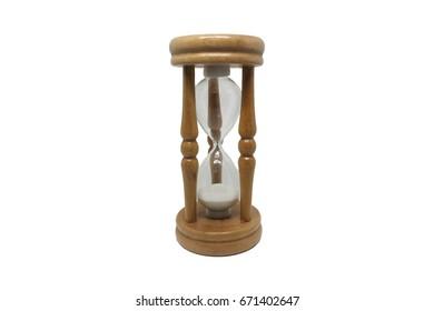 isolated Hourglass