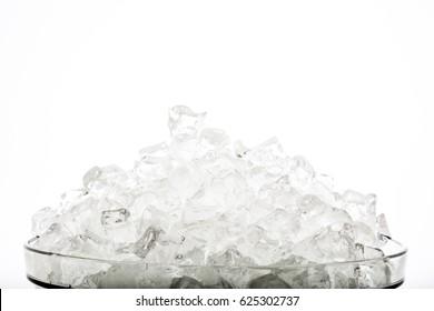 Isolated ice stones