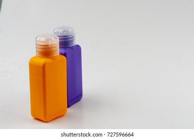 the isolated image of bottle. copy space area.