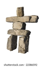 An isolated Inuksuk from Whistler, BC.