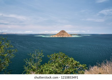 Isolated island in Komodo national park