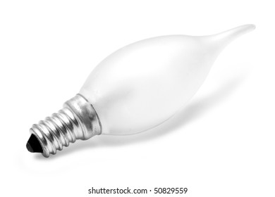 isolated lamp on a white background