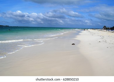Isolated location at the beach, Cayo Guillermo, Cuba