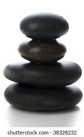 Isolated massage stones