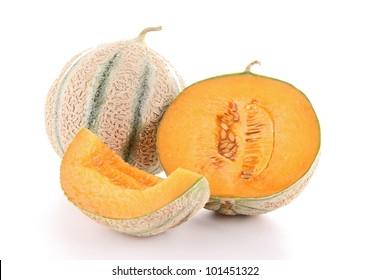 isolated melon
