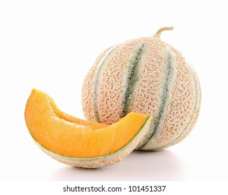 isolated melon