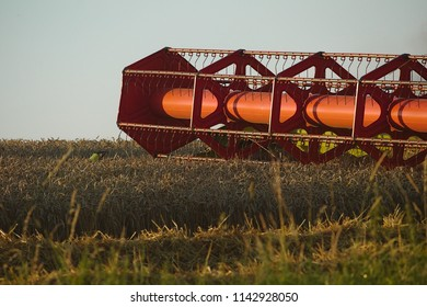 Isolated the mower from the combine harvester