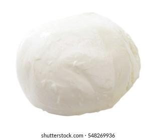 isolated Mozzarella cheese