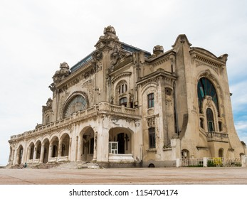 Isolated old casino in Constanta, Romania worth visiting if you are around the black sea.