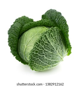 Сabbage isolated on white background