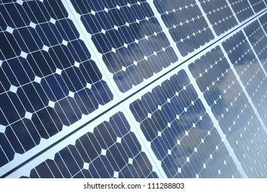 Isolated on white photovoltaic Panel for Alternative Energy