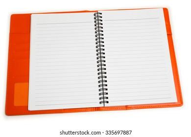 Isolated organizer notebook