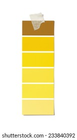 Isolated Paint Swatch