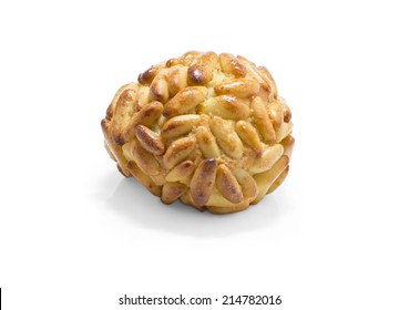 isolated panellet, are traditional desserts of All Saints holiday. known as Castanyada in Catalonia, Spain