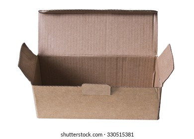 isolated parcel boxes - Shutterstock ID 330515381