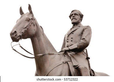 Isolated photo of Robert E. Lee, the commander of the Confederate forces at Gettysburg