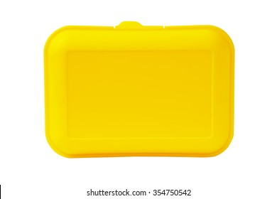 isolated plastic container