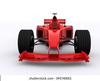Isolated Race Car