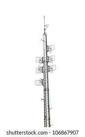 isolated radio tower