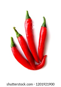 isolated red chile