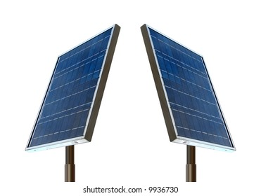 isolated solar panels