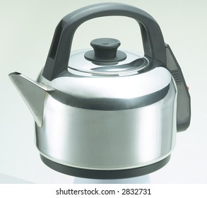 Isolated Stainless Steel Kettle 2