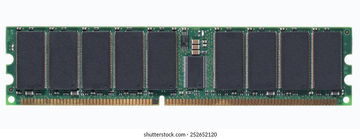 An Isolated stick of RAM