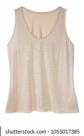 isolated tank top shirt
