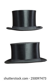 isolated Top Hat on white Background