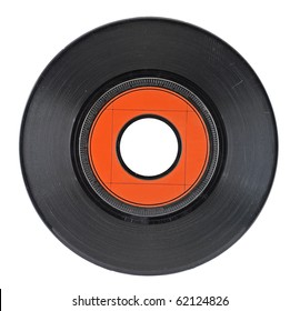 Isolated Vinyl Record (with clipping patch)