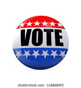 Isolated Vote Badge